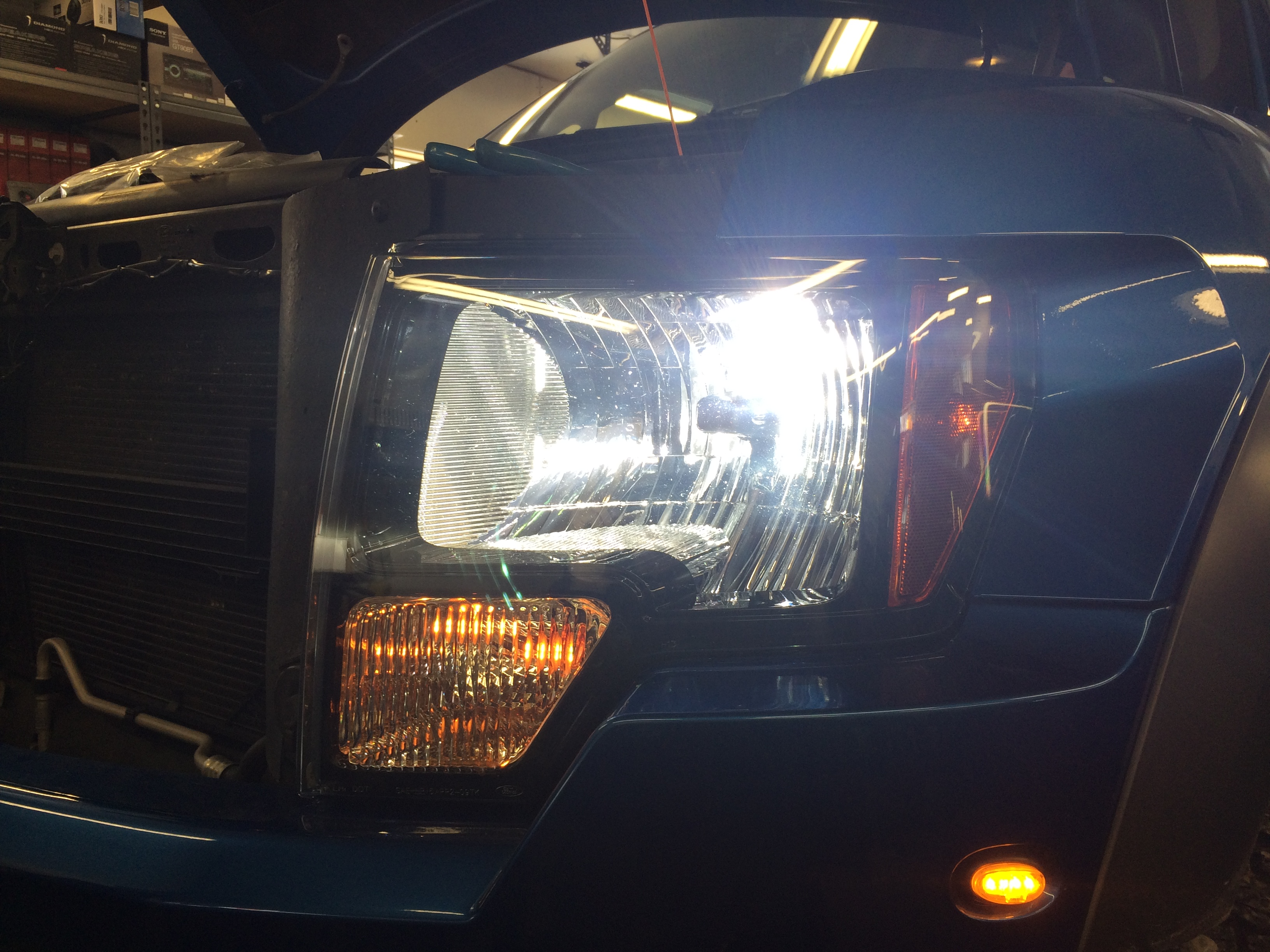 Blossom Installations 187 Ford Raptor Hid Headlight Upgrade