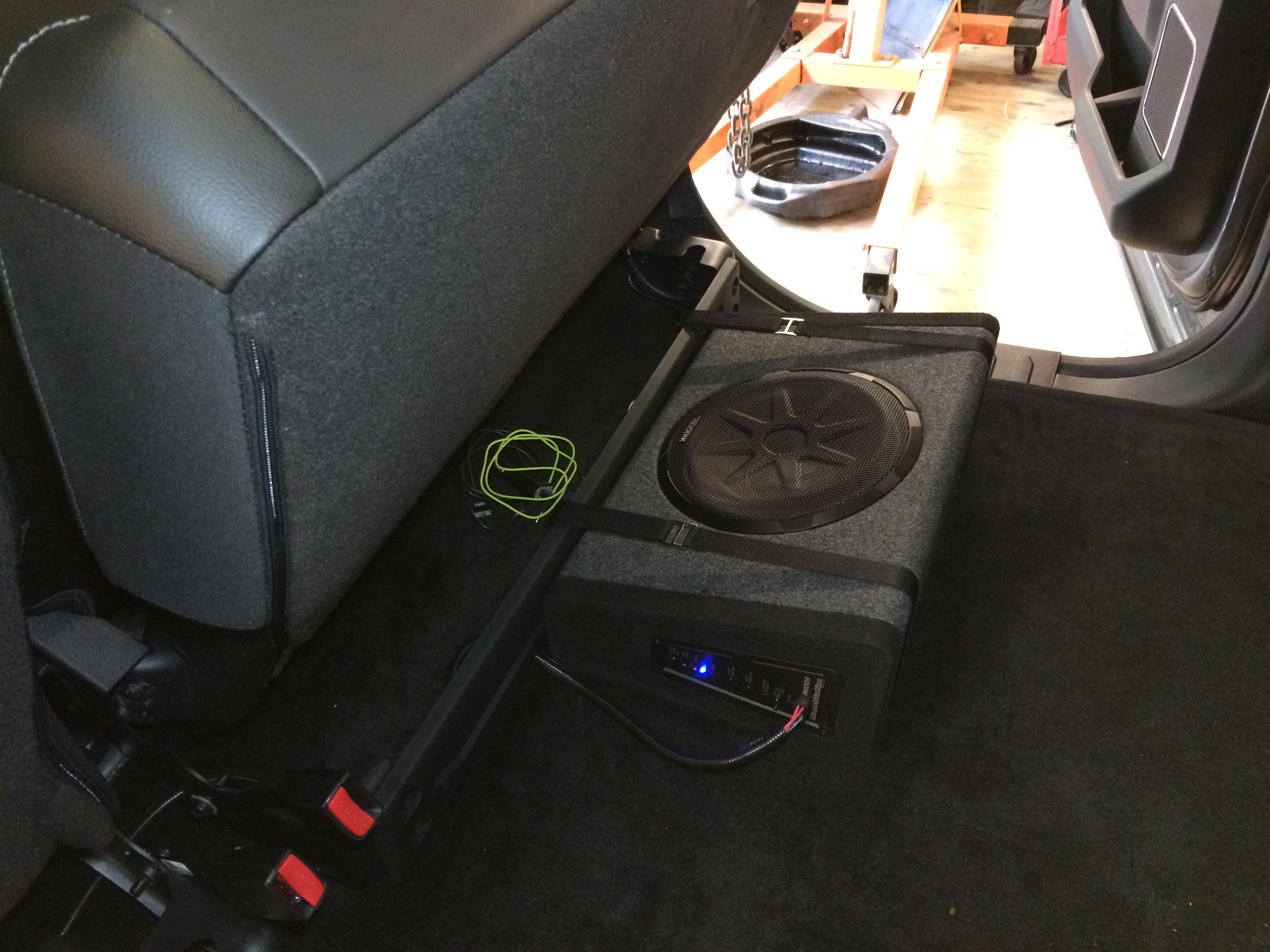 Blossom Installations 187 2015 Ford F 150 Kicker Subwoofer