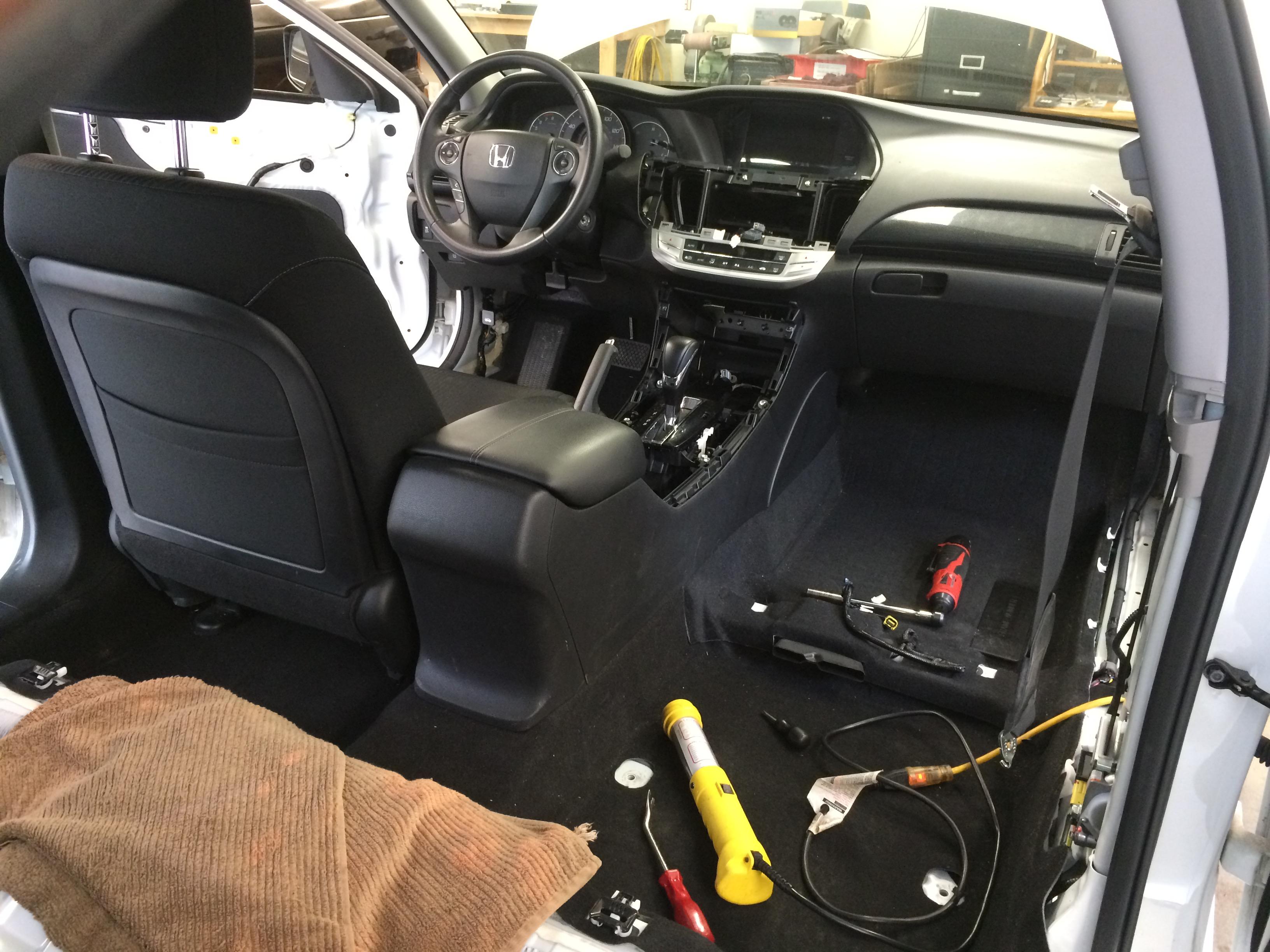 Blossom Installations 187 New Honda Accord Gets Lots Of