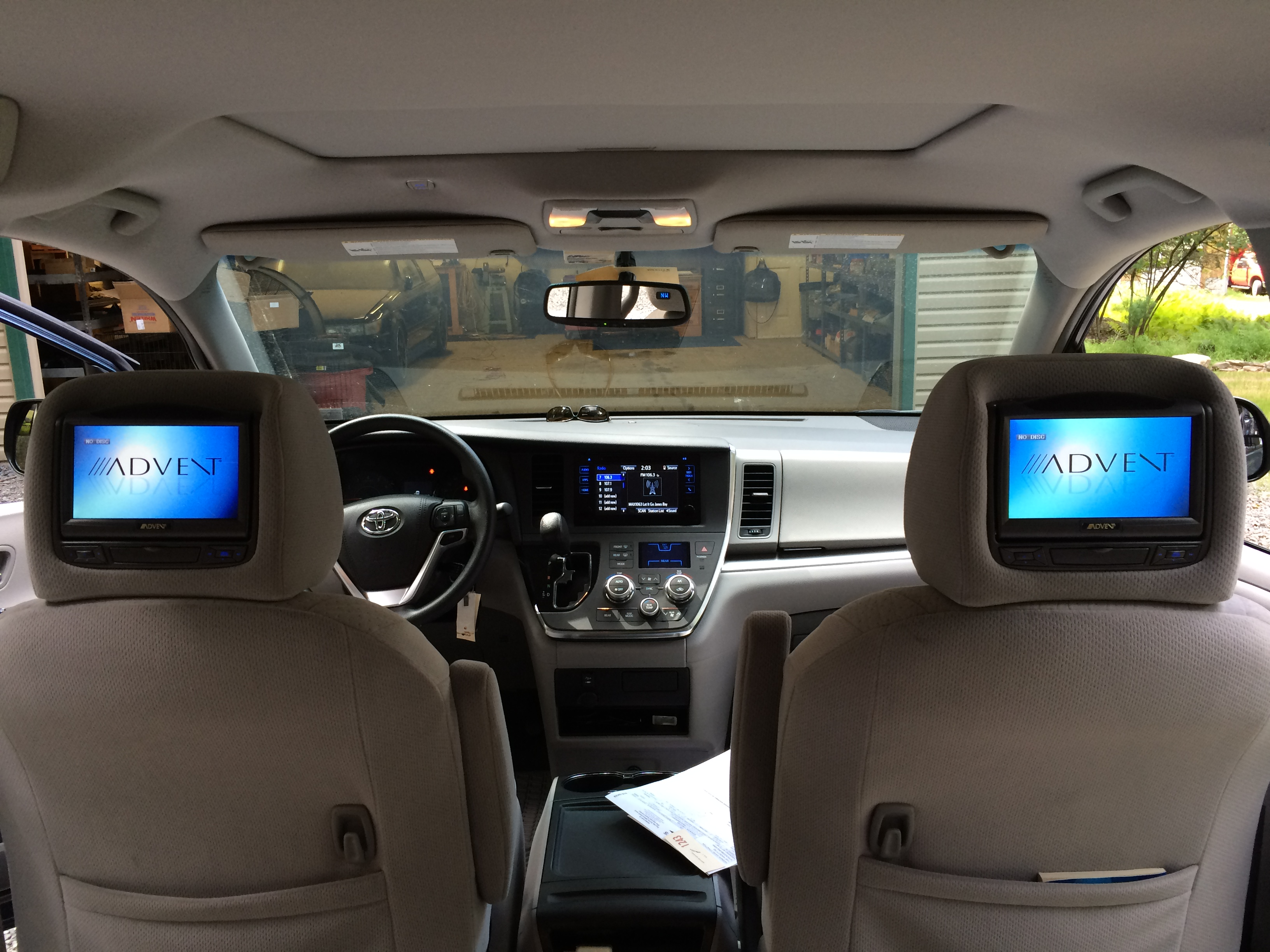 Used Car Dealership >> Blossom Installations » Toyota Sienna gets factory matched ...