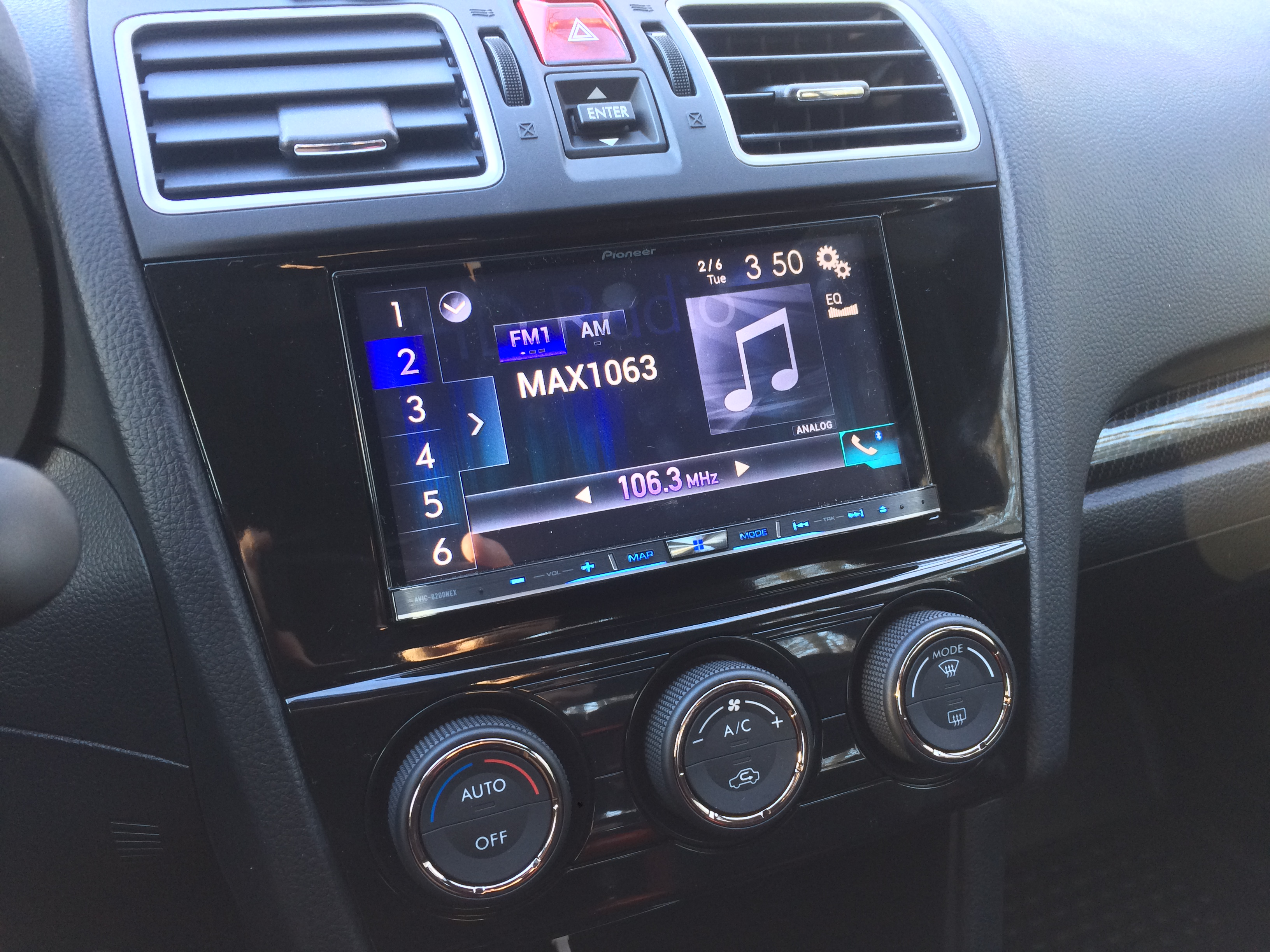 Blossom Installations 187 Subaru Wrx Gets Nex Navigation And