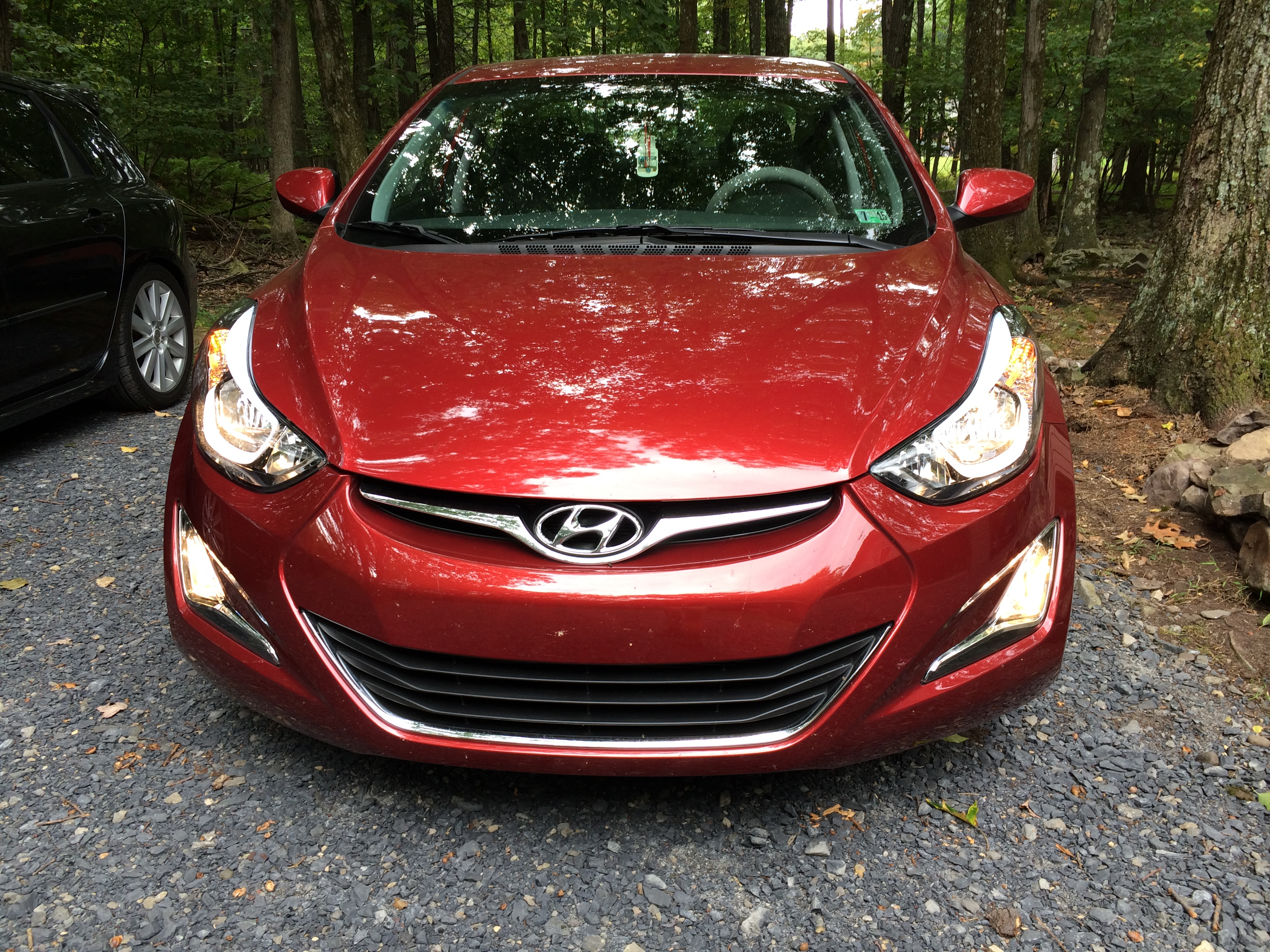 Blossom Installations Hyundai Factory Fog Light Install With Wiring Harness A Set Of Lights Finishes The Aggressive Look To Front This Elantra Gt Custom Designed Allows Automatic